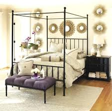 hollywood style bed frame image of wrought iron canopy bed frame