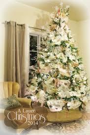 baby nursery glamorous cream christmas tree decorations silver