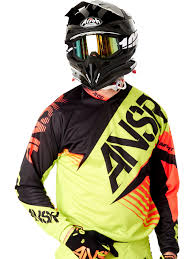 answer motocross gear answer acid black red 2016 syncron mx jersey ebay