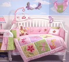 Soho Crib Bedding Set Soho Butterflies Baby Crib Nursery Bedding