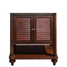 30 Inch Vanity Base Avanity Tropica 30 In W X 21 In D X 34 In H Vanity Cabinet Only