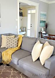grey and yellow home decor ask kylie how can i make gray feel warmer gray paint colors