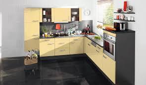 moderne einbauküche bavaria 1135 gelb küchen quelle - Küche Gelb