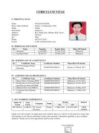 Resume Sample Format Philippines by Resume Example Seaman Resume Ixiplay Free Resume Samples