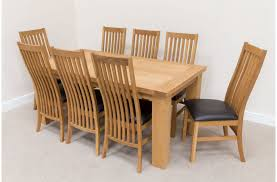 Solid Oak Dining Room Sets by Dining Room Table And 8 Chairs Descargas Mundiales Com