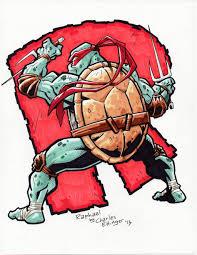 teenage mutant ninja turtles raphael charlesettinger deviantart