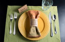 setting table for thanksgiving thanksgiving table setting ideas improvements blog