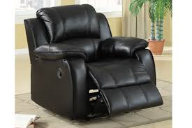Reclining Leather Armchair Black Leather Chair Steal A Sofa Furniture Outlet Los Angeles Ca