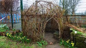 willow gazebo diy bio tecture build your own backyard living willow dome