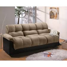 King Futon San Jose Bedroom King Futon Cozy Sofa Bed In Chocolate Color For Home