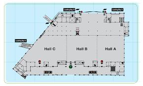 Exhibition Floor Plan Miecc Exhibition Hall In Malaysia International Exhibition