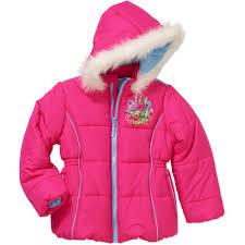 shopkin s girls puffer coat walmart
