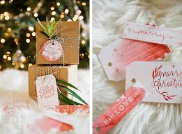 watercolor holiday gift tag printables mstetson design
