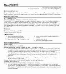 sample resume for doctors medical resume example sample resume