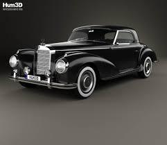 classic mercedes models mercedes benz 300 sl gullwing 1954 3d model hum3d