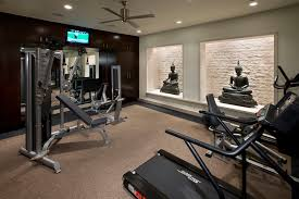 Home Gym Ideas Watson Gym Contemporary Home Gym Los Angeles Kollin