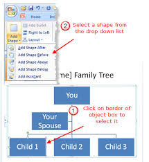 family tree template for powerpoint 2007 create a family tree in