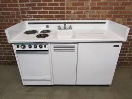 kitchen sink with cupboard for sale dwyer vintage kitchen kitchenette stove sink refrigerator