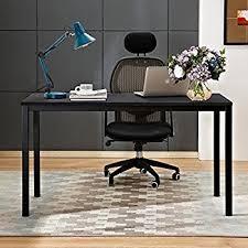 Black Desk Office Need Computer Desk 55 Large Size Office Desk With