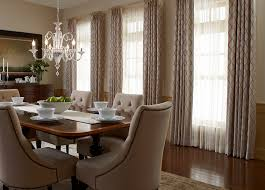 stunning dining room window treatments and dining room window