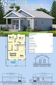 Floor Plans Tiny Homes by Plan 42332db Cozy 2 Bed Tiny House Plan Tiny House Plans