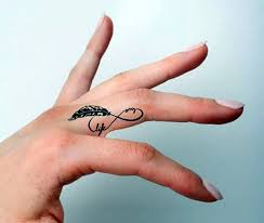 50 beautiful girly finger tattoos