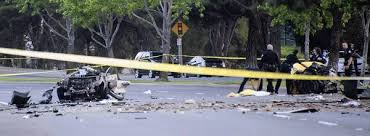 5 killed when car smashes into tree in newport beach latimes