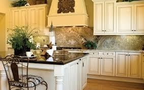stylish cream colored kitchen cabinets all home decorations