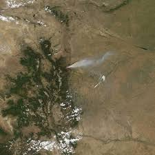 Wildfire Near Fort Collins Colorado by High Park Fire In Colorado Natural Hazards