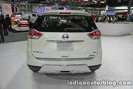nissan hybrid 2016 nissan x trail x tremer hybrid rear at the thai motor expo