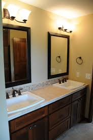 bathroom oak bathroom cabinets double sink vanity mirrors fur