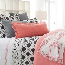 Coral Bedspread Coral Bedding And Curtains Outstanding Annie39s Favorite Color