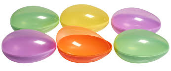 jumbo plastic easter eggs prextex jumbo plastic easter egg containers in assorted