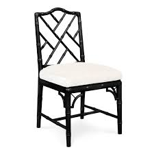 black chippendale side upholstered chair loversiq