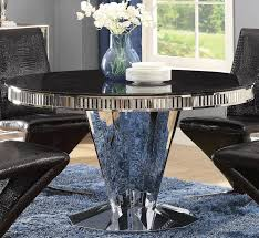 Coaster Dining Room Sets Barzini Stainless Steel Dining Room Set From Coaster Coleman