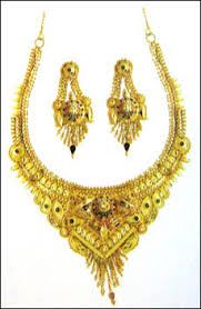 ladies gold necklace images Ladies gold necklace set in masjid bunder e mumbai manufacturer jpg