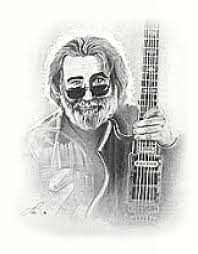 hand sketched posters jerry garcia cybershed cybershed