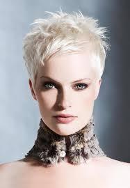 short white hair pixie cut white hair messy spikey hair popular haircuts