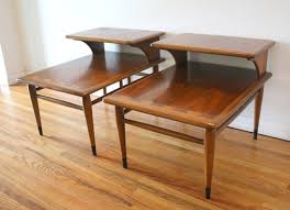 coffee table and end table sets 2 lane picked vintage