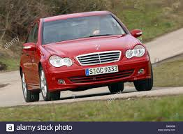 car mercedes red car mercedes c 220 cdi limousine medium class model year 2004