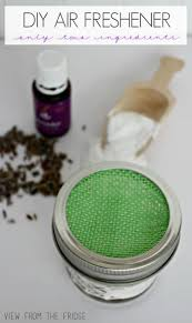homemade air fresheners two ingredients view from the