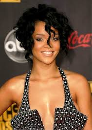 african american short hairstyles for curly hair with highlight