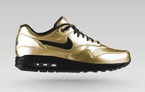 nike design your own nikeid air max 1 metallic leather sneaker bar detroit