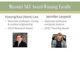 Job Wining Computer Teacher Or by Missouri S U0026t Award Winning Faculty Ppt Video Online Download