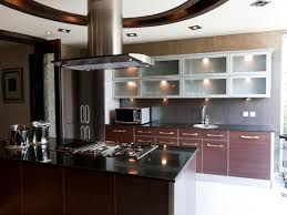 kitchen brown dining tables black bar stool black granite