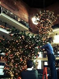 sparkling hotel lobbies decked out for christmas cool hotel in