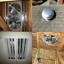 gable attic fan installation gable attic fan gable attic fan solar attic gable fan conversion kit