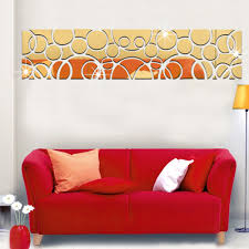 Home Decoration Stickers by Decorative Mirror Decals Promotion Shop For Promotional Decorative