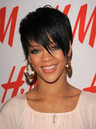 celebrity short hairstyles from rihanna hairii