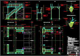 metal stairs dwg block for autocad u2022 designs cad